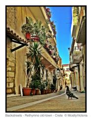 Exploring the back-streets of Rethymno's Old-Town