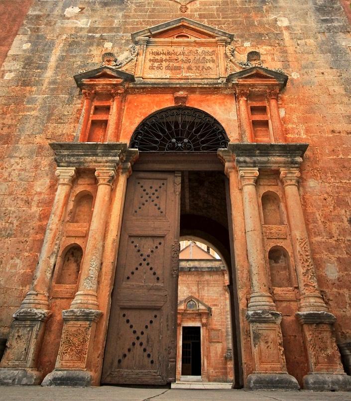 The grand entrance to Gouverneto Monestry