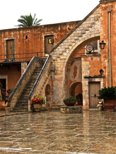 It rainfall in Crete... ?