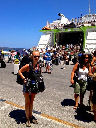 Backpacking Greek Island Hopping