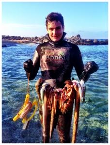 Snokellers - Catch - Fish - Stavros - Crete - Greece
