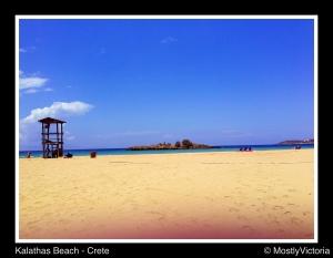 Kalathas Beach - Crete - Greece