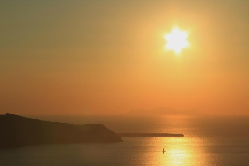 Caldera Sunset - from Firostefani - Santorini