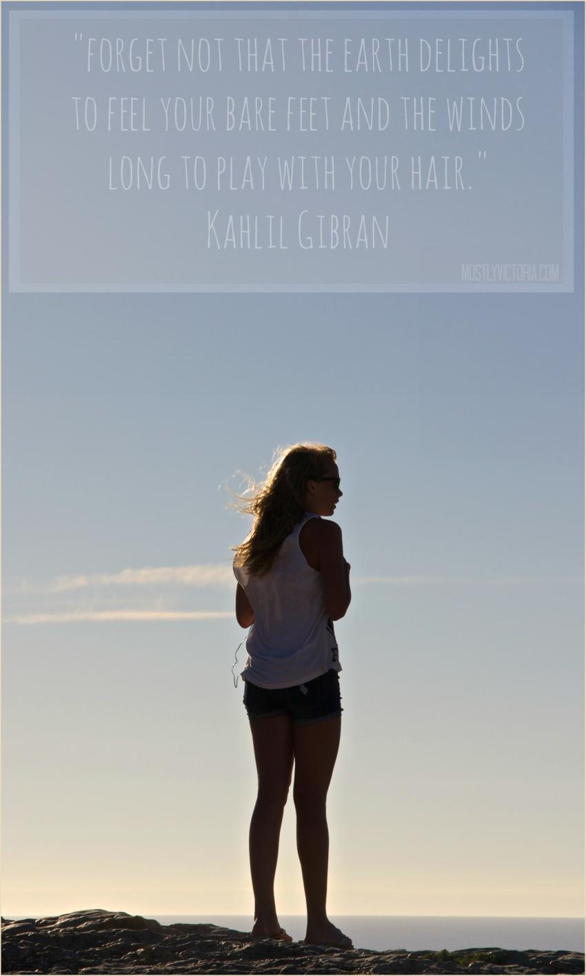 TRAVEL QUOTE #1 World Travel Life Inspiration - kahlil gibran